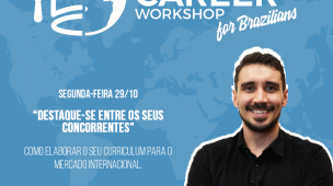 Workshop gratuito para carreira internacional